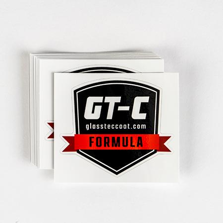 GT-C FORMULA 施工ステッカー 10枚セット